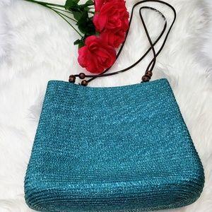 Wheatstraw bag Teal